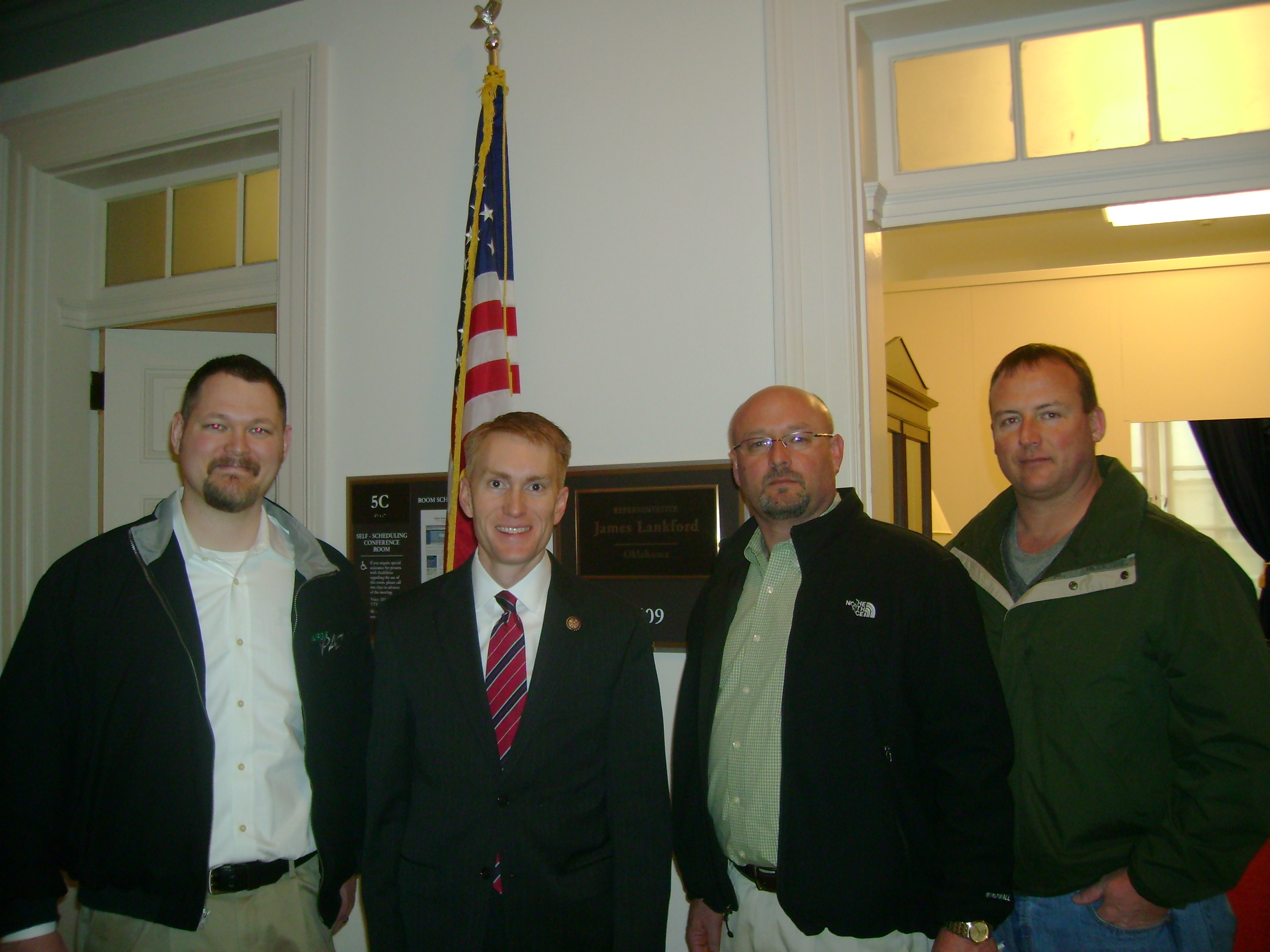 Local 171 and Congressman Lankford